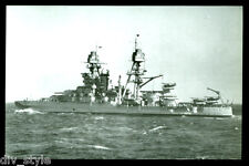 USS Arizona bb-39 Tarjeta Postal NOS MARINA Acorazado