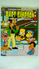 Simpson Comics Presents Bart Simpson Boy of a 1000 Faces Autumn 2003