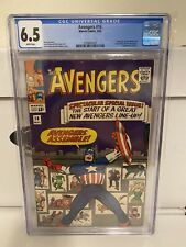 Avengers #16 CGC 6.5 Hawkeye Scarlet Witch Quicksilver joins Marvel Comics 1965