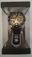 Brand New Zooyork Men Watch 10026697 in Stainless Steel and Black Strap