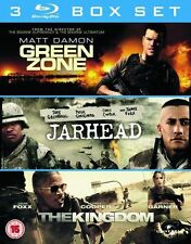 GREEN ZONE/JARHEAD/THE KINGDOM****BLU-RAY****REGION B****NEW & SEALED