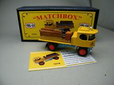 Matchbox MoY Code 2 YGL-42 Atkinson Spedition Pritsche+Ladung blaue Box 1 von 9