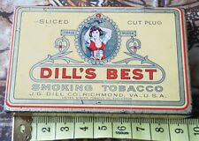 More details for dill's best smoking tobacco tin
