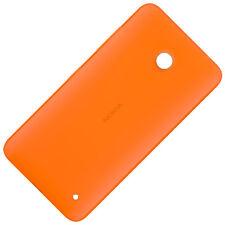 Nokia Lumia 630 Dual Sim original CC-3079 Schutz Hülle hell orange Back Cover