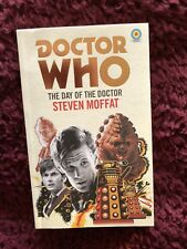 Doctor who   Day Of The Doctor  Target book  Hand signed by Writer Steven Moffat