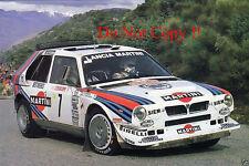 Henri Toivonen Martini Lancia Delta S4 Monte Carlo Rally 1986 Photograph 4