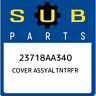 23718AA340 Subaru Cover assyaltntrfr 23718AA340, New Genuine OEM Part