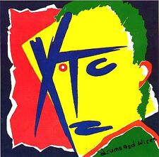 XTC - Drums And Wires Rare Sticker