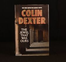 1991 Colin Dexter The Jewel That Was Ours First Edition Signed Inspector Morse
