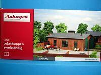 Auhagen N 14470 Bausatz Lokschuppen 2-ständig neu in Originalverpackung,M 1:160,