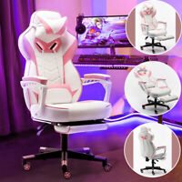 Computer Gaming Chair Recliner Executive Desk Swivel PC Racing Office Seat Chair