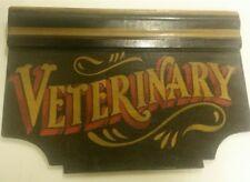 vintage veterinary bottle