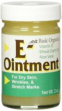 Basic Organics Natural Vitamin E Ointment 2 oz