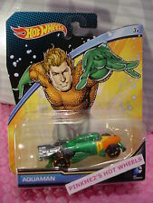 2015 Dc Comics Hot Wheels Aquaman ∞ Vert / Orange / Jaune ; oh5 ∞ 1:64