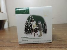 """Department 56 New England Village Series """"An Artist's Touch"""" #56638 In Box"""