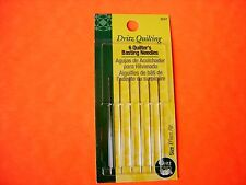 Dritz Quilting - 6 Pack Quilters Basting Hand Sewing Needles - Size 7 - #3047