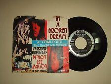 "Python Lee Jackson/In A Broken Dream–Disco Vinile 45 Giri 7"" Stampa Italia1972"