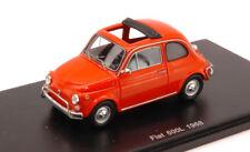 Fiat 500 L 1968 Orange 1:43 Spark S2693 Modellino