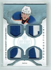 14-15 UD The Cup Foundations  Ryan Nugent-Hopkins  1/10 First Card  Quad Patches