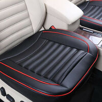 Car Front Seat Cover Breathable PU Leather Auto Cushion Chair Mat Pad Protector