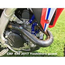 HONDA CRF450R 2013 2014 2015 2016 PRO CARBON EXHAUST GUARD YOSHIMURA HEADER