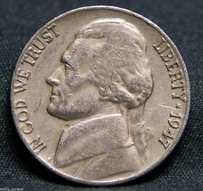 1947 S Jefferson Nickel, Nice, Circulated, Low Mintage of 24.7 Mil, Free Ship