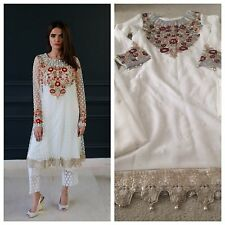 New Mina Hasan Replica Pakistani Designer Dress 3pc 2017 Formal Wedding Eid Med