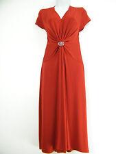 Calf Length V Neck Party Patternless Dresses for Women