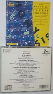 Laurie JOHNSON: Symphony, Royal Tour suite, Wind in the Willows UNICORN-KANCHANA