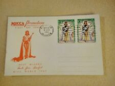 MECCA PROMOTIONS FIRST DAY COVER MISS WORLD - JAMAICA 14.02.1964