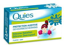QUIES child Hearing protection swimming 3 pairs
