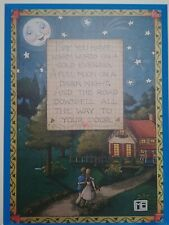 "Mary Engelbreit Plaque 11 x 15, ""May you have warm words on a cold evening"""