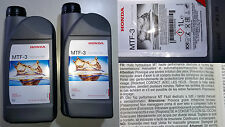 2 LT Olio Honda MTF 3 Cambio manuale Civic,Accord,CRv,S-2000,Jazz,Integra ORIGIN