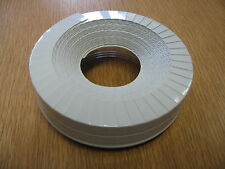 Lamellenabschlußband Lamellenband 20mm f. PVC Rohrisolierung grau 10m 1,17EUR/1m