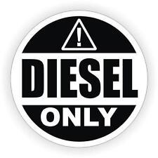 Adesivi adesivo sticker moto auto diesel only carburante benzina gasolio scooter