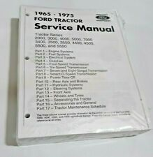 4500 Ford Tractor Technical Service Shop Repair Dealer Manual 913 PAGE BOOK