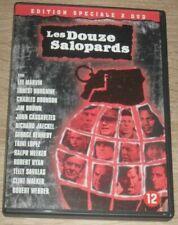 """Coffret Box Set Film 2 DVD """"LES DOUZE SALOPARDS 1 + 2"""" Borgnine, Marvin, Bronson"""