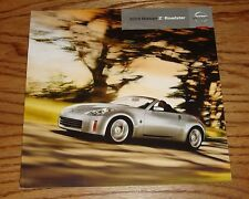 Original 2009 Nissan Z Roadster Sales Brochure 09