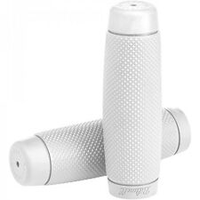 """Biltwell Recoil Motorcycle Grips - 7/8"""" - White"""