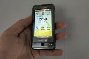 Samsung Omnia i900 8GB Silver (Unlocked) Smartphone Windows Mobile 6.1 phone PDA