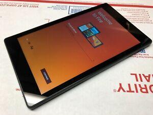 Amazon Kindle Fire HD 8 - PR53DC (6th Generation) Wi-Fi - 8in - Black - Good Con