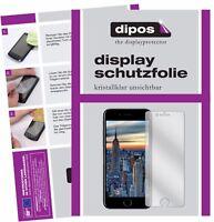 2+2x Apple iPhone 8 Plus Protector de Pantalla protectores transparente dipos