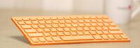 Bluetooth Bamboo Wooden Keyboard Ultrathin Multimedia Healthy Eco Friendly蓝牙竹键盘