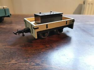 45mm g gauge, kit build open wagon with hinged box, powder, 16mm or 7/8 scale