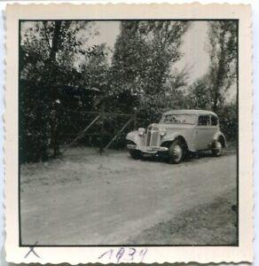 Orig. Foto Auto WANDERER 1939 auf Straße Kennz. IS 262 928