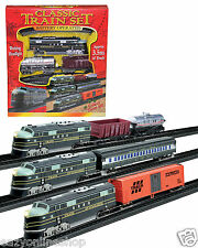 Classic Battery Operated Train Set 3.5m With Tracks Light Engine Kids Toy Ty308