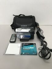 Sony Handycam DCR-DVD308 DVD Digital Camcorder 25xOptical Zoom Touch Case Remote