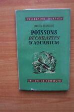 POISSONS DECORATIFS D'AQUARIUM