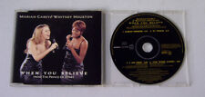 Single CD Mariah Carey & Whitney Houston - When you believe 1998 MCD M 23