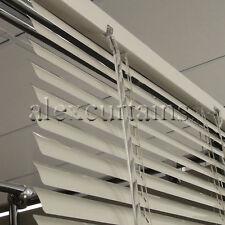 Aluminium Venetian Blinds, Size: 90x210cm, 25mm Slat, Colour: Ivory